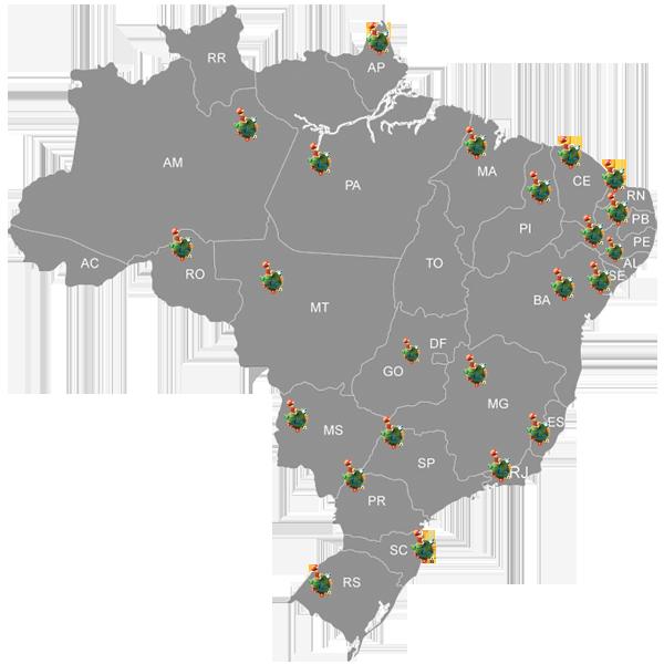 Assinatura Disponível em 20 Estados Brasileiros