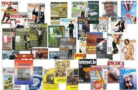 revistas Bazar na Garagem