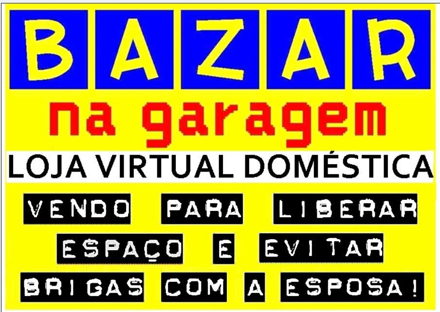 Bazar na Garagem - Loja Virtual Doméstica - Belo Horizonte - Logo