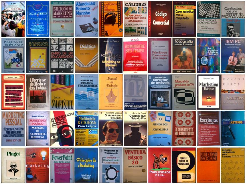 livros Bazar na Garagem