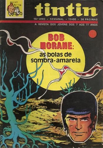 BOB MORANE - 25 . BOLAS DE SOMBRA-AMARELA (AS)