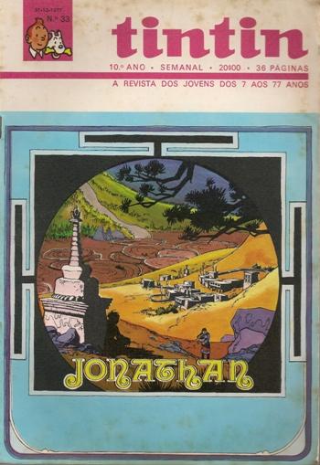 JONATHAN - 3 . PÉS DESCALÇOS SOB OS REDODENDROS