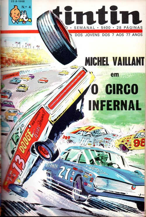 MICHEL VAILLANT - 15 . CIRCO INFERNAL (O)
