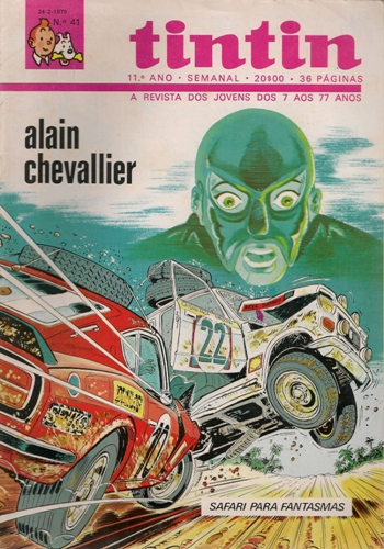 ALAIN CHEVALLIER - 5 . SAFARI PARA FANTASMAS