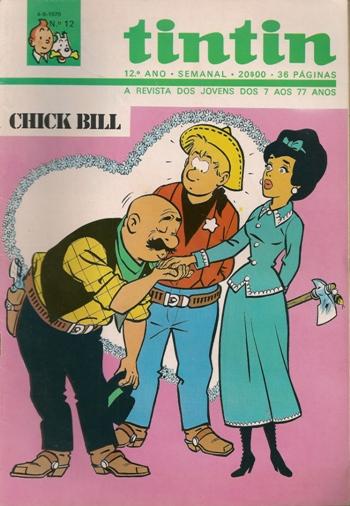 CHICK BILL - 25 . TEMPESTADE COR-DE-ROSA