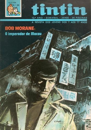 BOB MORANE - 27 . IMPERADOR DE MACAU (O)