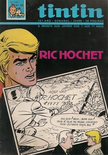 RIC HOCHET - 27 . ESPADA SOBRE A GARGANTA (A)