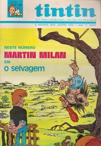 MARTIN MILAN - 8 . SELVAGEM (O)