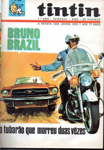 BRUNO BRAZIL - 1 . TUBARÃO QUE MORREU DUAS VEZES (O)