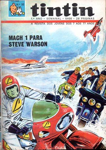 MICHEL VAILLANT - 14 . MACH 1 PARA STEVE WARSON