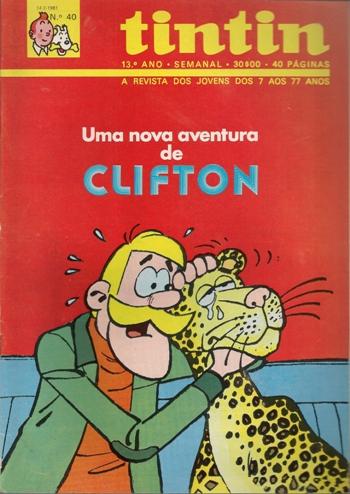CLIFTON - 11 . PANTERA PARA O CORONEL (UMA)