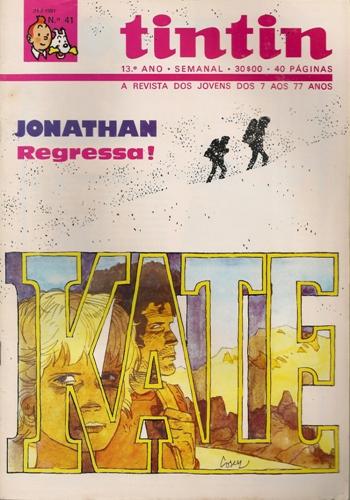 JONATHAN - 7 . KATE