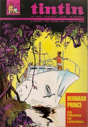 BERNARD PRINCE - 1 . GENERAL SATÃ E OS PIRATAS DE LOKANGA (O)
