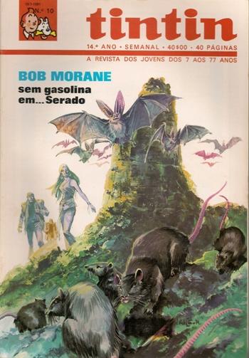 BOB MORANE - 21 . SEM GASOLINA EM… SERADO