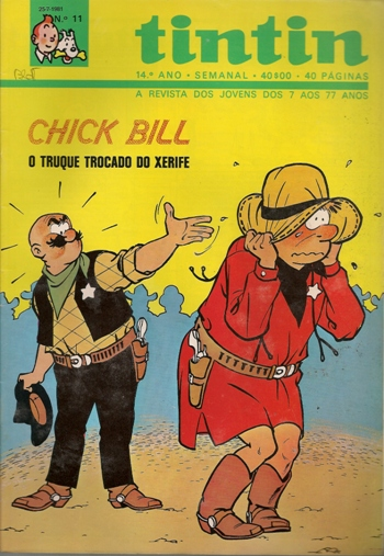 CHICK BILL - 35 . TRUQUE TROCADO DO XERIFE (O)