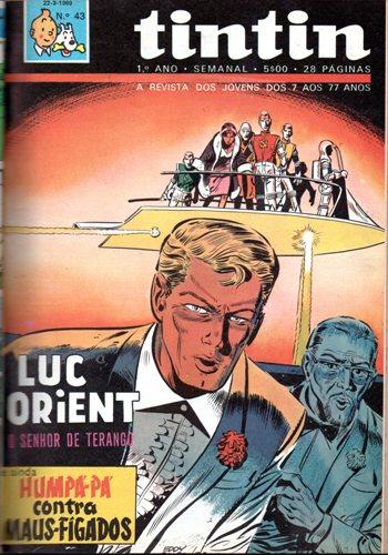 LUC ORIENT - 3 . SENHOR DE TERANGO (O)
