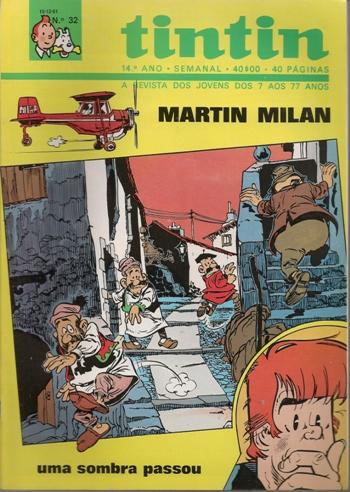MARTIN MILAN - 10 . UMA SOMBRA PASSOU