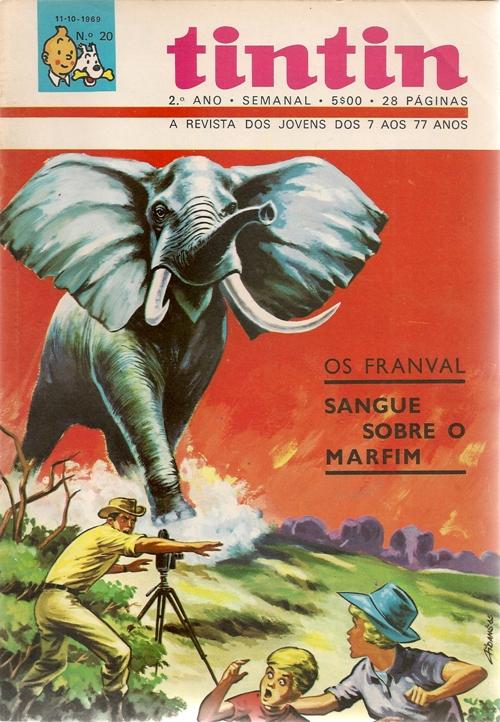 FRANVAL (OS) - 1 . SANGUE SOBRE O MARFIM
