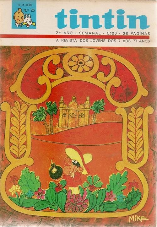PANCHO BOMBA - TINTIN . N.º 225