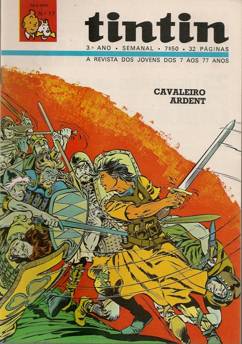 CAVALEIRO ARDENT - 5 . HARPA SAGRADA (A)