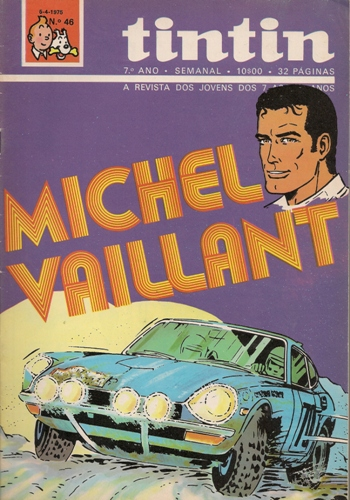 MICHEL VAILLANT - 25 . RAPARIGAS E MOTORES