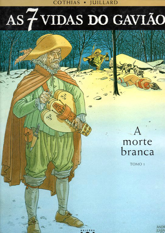 7 VIDAS DO GAVIÃO (AS) - 1 . MORTE BRANCA (A)