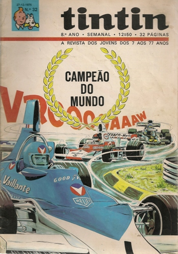 MICHEL VAILLANT - 26 . CAMPEÃO DO MUNDO