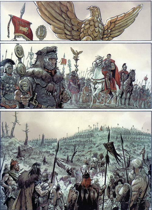 Prancha de: ÁGUIAS DE ROMA (AS) - 1 . ÁGUIAS DE ROMA (AS) - Livro I