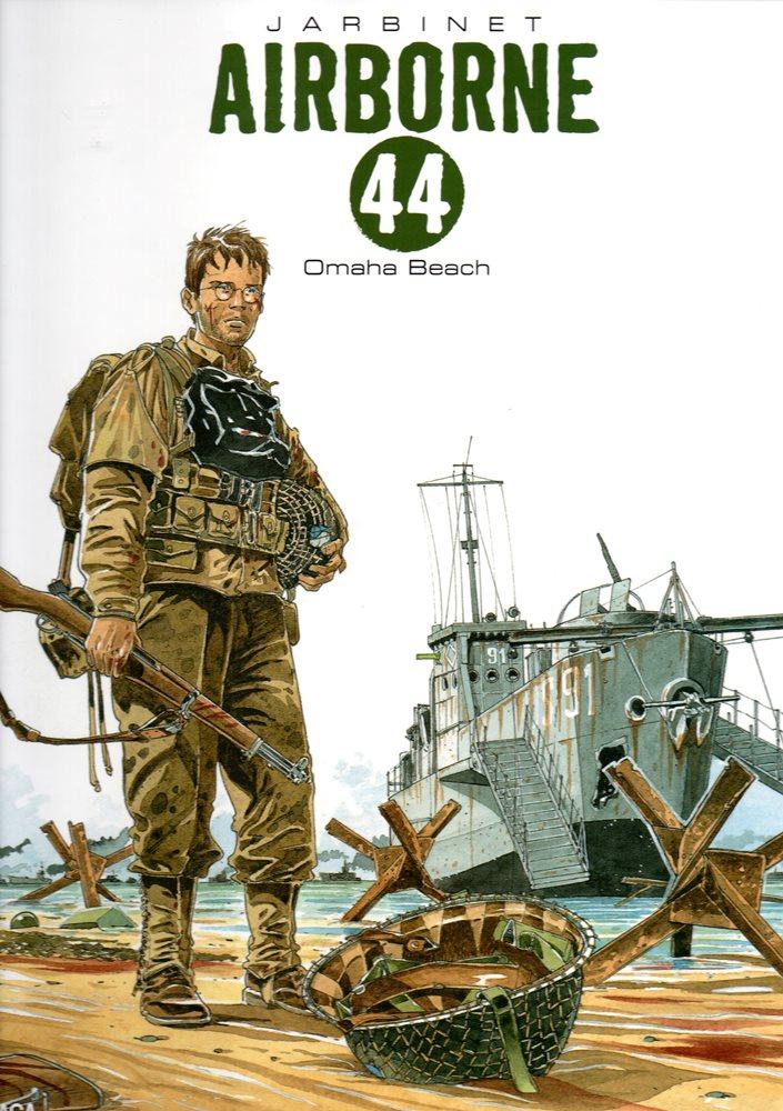 Capa  AIRBORNE 44 - 3 . OMAHA BEACH