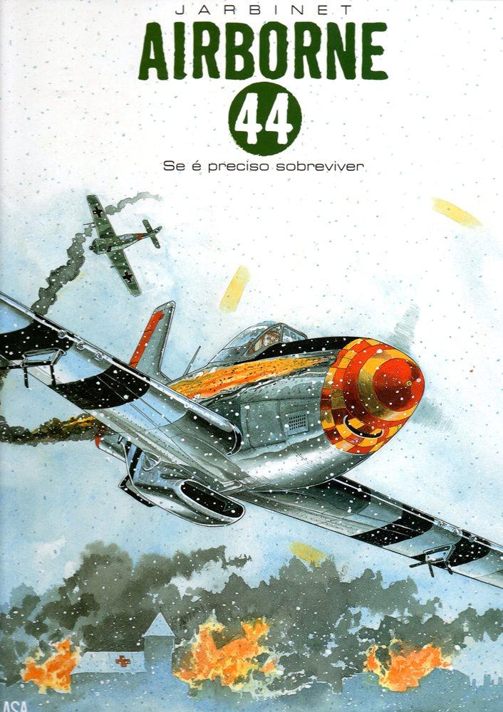 Capa  AIRBORNE 44 - 5 . SE É PRECISO SOBREVIVER
