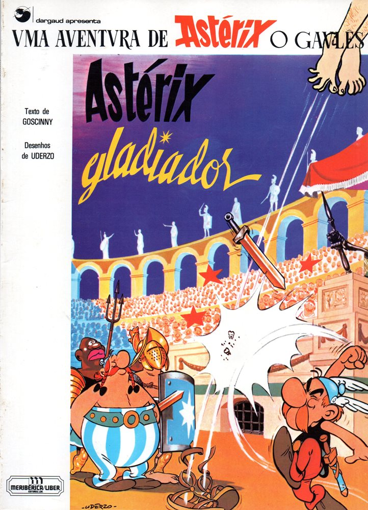 ASTÉRIX - 4 . ASTÉRIX GLADIADOR
