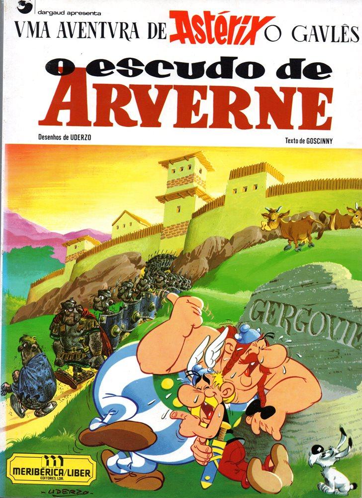 Capa  ASTÉRIX - 11 . ESCUDO DE ARVERNE (O)