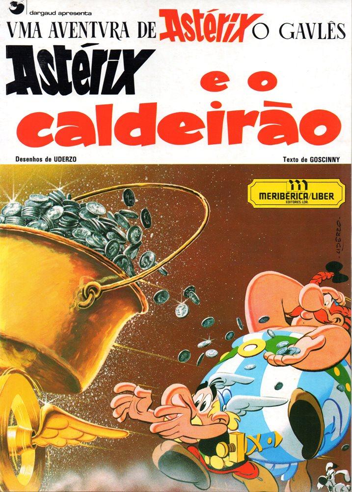 ASTÉRIX - 13 . ASTÉRIX E O CALDEIRÃO