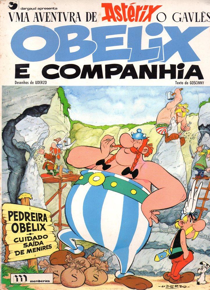 ASTÉRIX - 23 . OBÉLIX E COMPANHIA