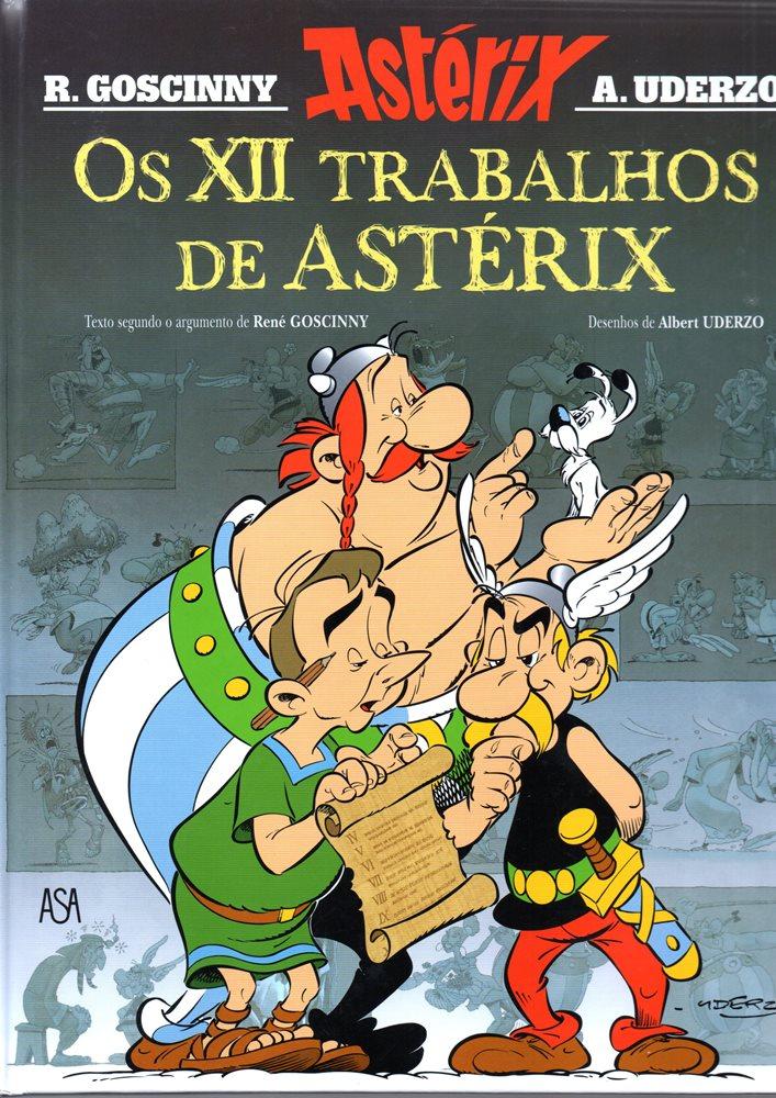 ASTÉRIX - 38 . 12 TRABALHOS DE ASTÉRIX (OS)