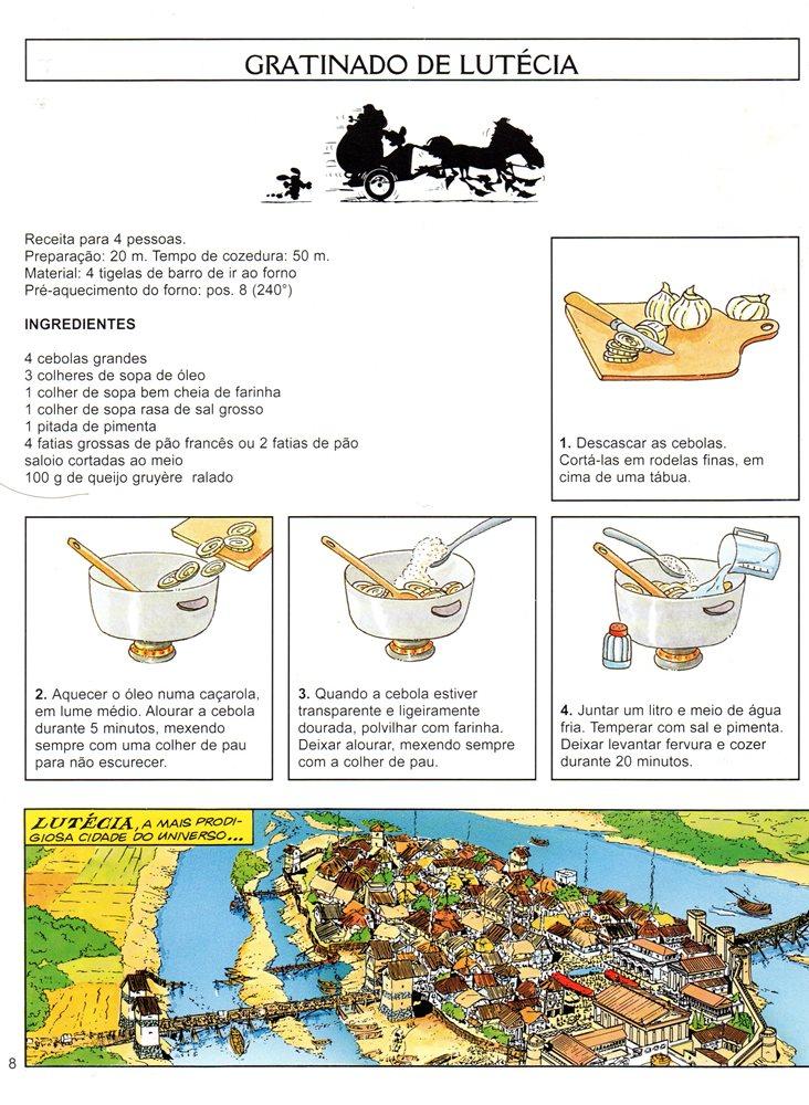 Prancha de: ASTÉRIX - 40 . VIAGENS GULOSAS D'ASTÉRIX (AS)