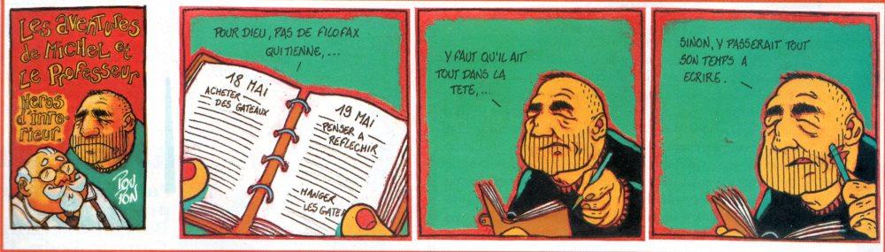 AVENTURES DE MICHEL ET LE PROFESSEUR (LES)