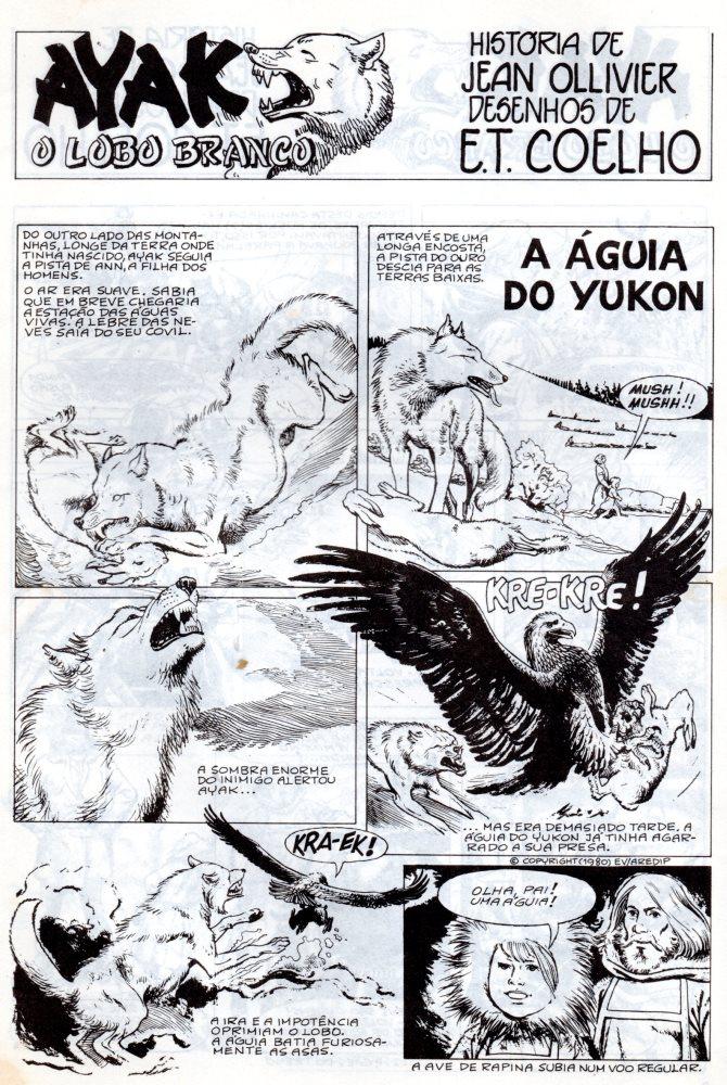 Prancha de: AYAK - 4 . ÁGUIA DE YUKON (A)