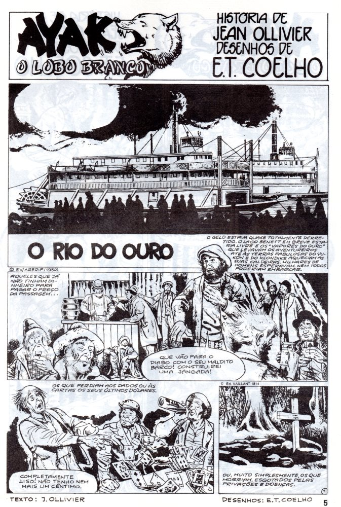 Prancha de: AYAK - 5 . RIO DE OURO (O)