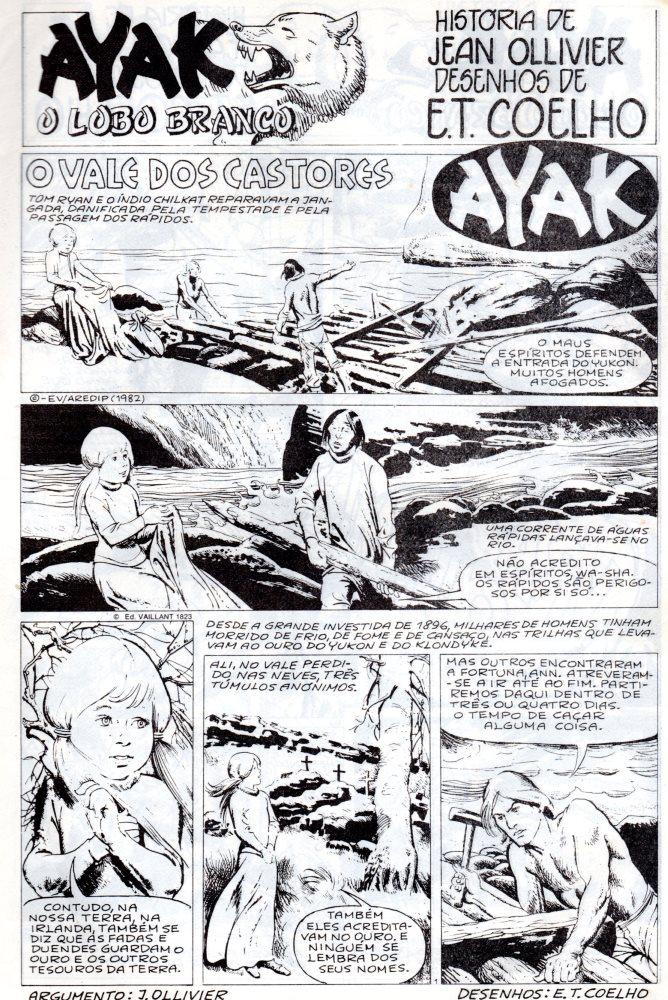 Prancha de: AYAK - 6 . VALE DOS CASTORES (O)