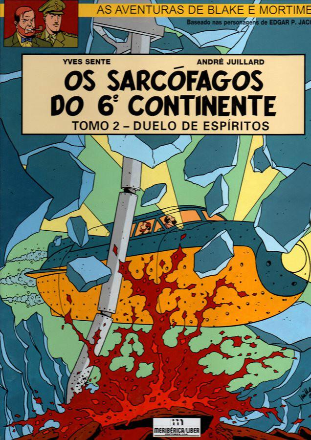 BLAKE ET MORTIMER - 17 . SARCÓFAGOS DO 6º CONTINENTE (OS) - V. 2