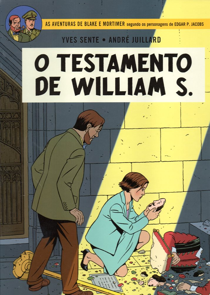 BLAKE ET MORTIMER - 24 . TESTAMENTO DE WILLIAM S. (O)