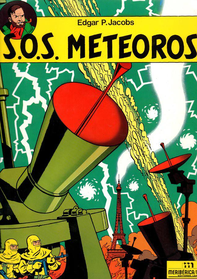 BLAKE ET MORTIMER - 8 . S.O.S. METEOROS