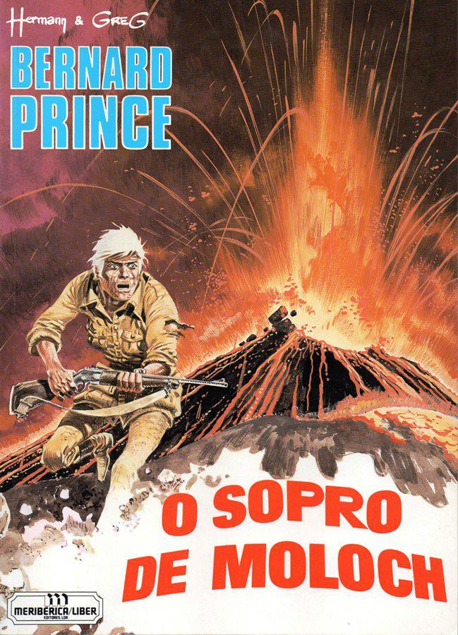 Capa  BERNARD PRINCE - 10 . SOPRO DE MOLOCH (O)