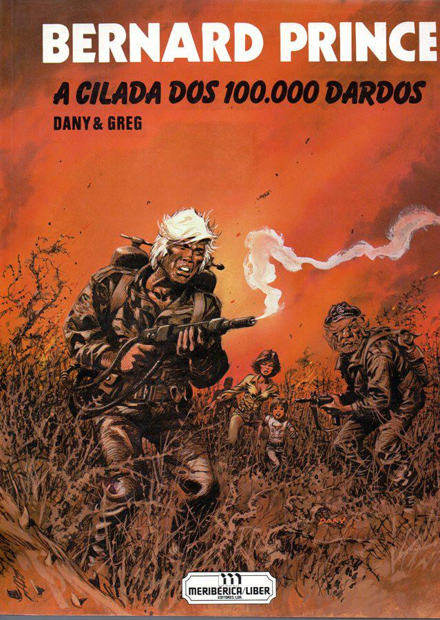 BERNARD PRINCE - 14 . CILADA DOS 100.000 DARDOS (A)