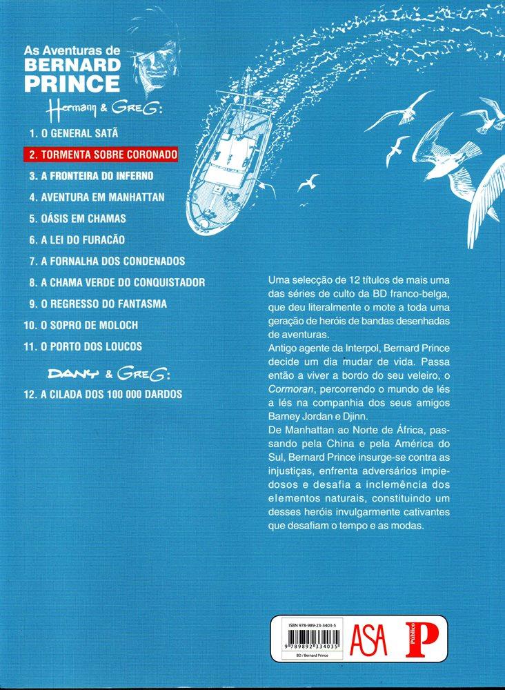 Prancha de: BERNARD PRINCE - 2 . TORMENTA SOBRE CORONADO