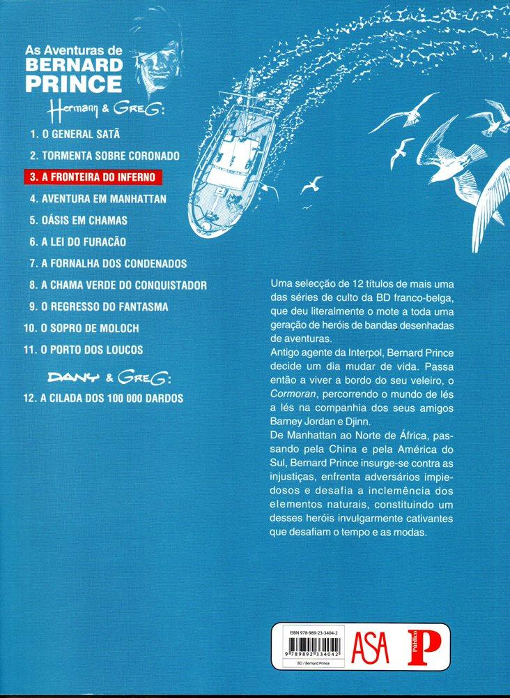 Prancha de: BERNARD PRINCE - 3 . FRONTEIRA DO INFERNO (A)