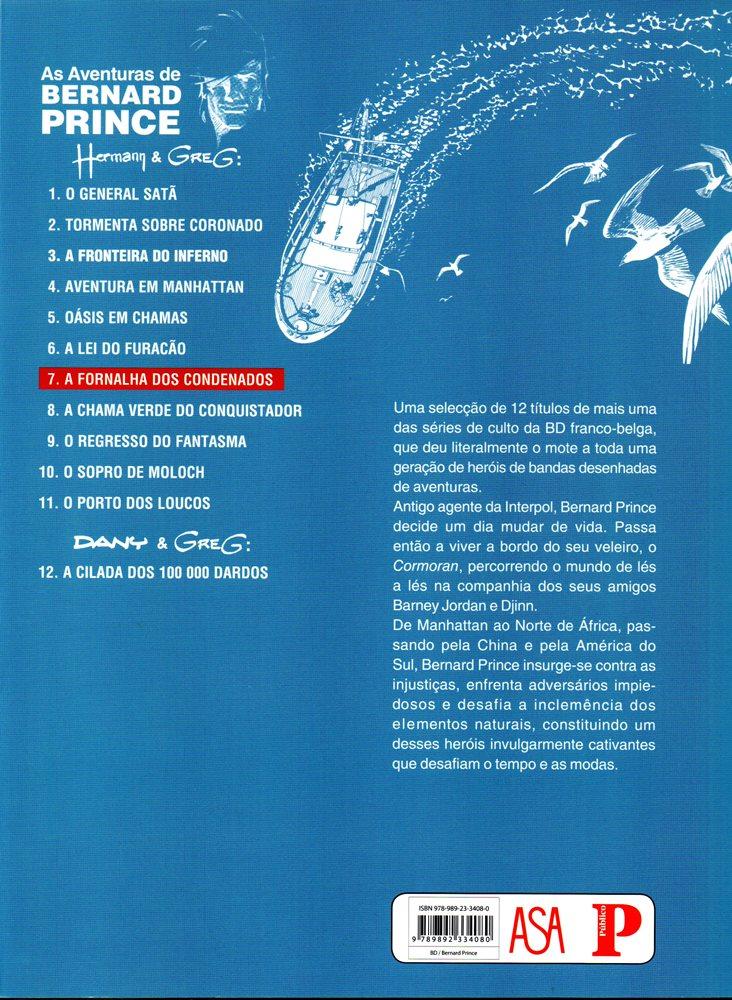 Prancha de: BERNARD PRINCE - 7 . FORNALHA DOS CONDENADOS (A)