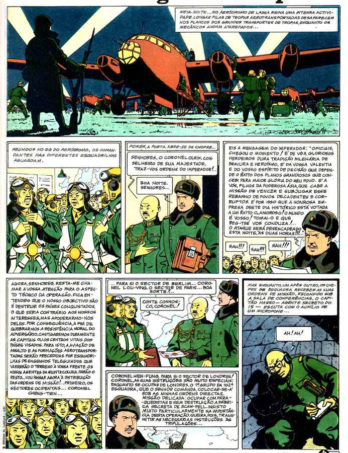 Prancha de: BLAKE ET MORTIMER - 1 . SEGREDO DO ESPADÃO (O) - V. 1