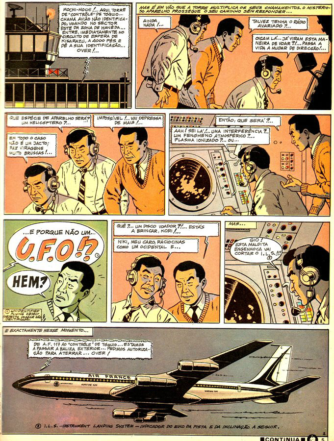 Prancha de: BLAKE ET MORTIMER - 11 . 3 FÓRMULAS DO PROFESSOR SATO - V. 1 (AS)